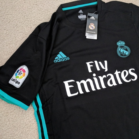 NWT Mens Adidas Real Madrid Soccer Jersey 17 18 a328003fcf